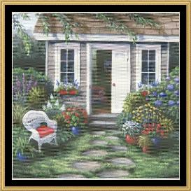 tea in the garden collection - cozy moment