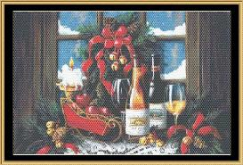 cheers with a sleigh