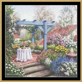 tea in the garden collection - tea on the terrace