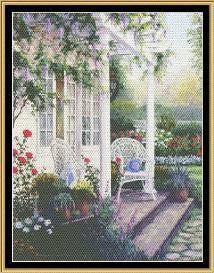 tea in the garden collection - bit of terrace