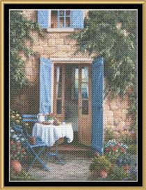 tea in the garden collection - afternoon in provence