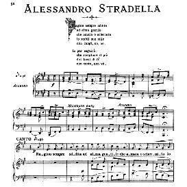 Ragion sempre addita, High Voice in A Major, A.Stradella. For Soprano, Tenor. From: Arie Antiche (Parisotti) -2-Ricordi (1889) | eBooks | Sheet Music