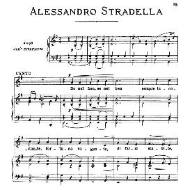 Se nel ben sempre incostante, High Voice in G Major, A.Stradella, Ed. Ricordi | eBooks | Sheet Music