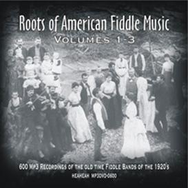 roots of american fiddle music vol 1-3