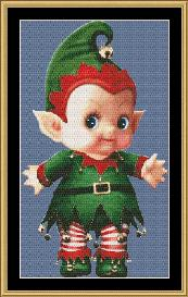 cupie doll - elf