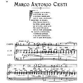 Tu mancavi a tormentarmi, High Voice in C Minor, M.A.Cesti, Ed. Ricordi | eBooks | Sheet Music