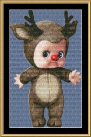 cupie doll - reindeer