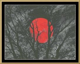 new moon series - red moon