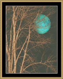 new moon series - blue moon