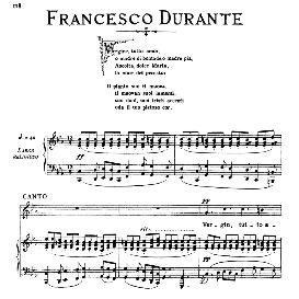 Vergin tutt'amor, Medium-High Voice in C Minor, F.Durante, Ed. Ricordi | eBooks | Sheet Music