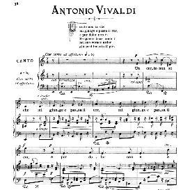 Un certo non so che, Medium Voice in A Minor, A.Vivaldi, Ed. Ricordi | eBooks | Sheet Music