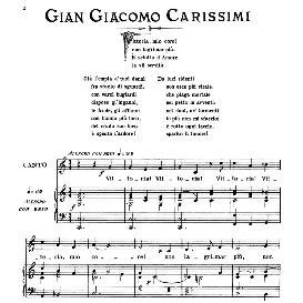 Vittoria!Vittoria!, Medium Voice in C Major, G.G.Carissimi, Ed. Ricordi | eBooks | Sheet Music