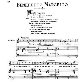 Non m'è grave morir per amore, Medium-Low Voice in C Major, B.Marcello. For Mezzo, Baritone. From: Arie Antiche (Parisotti) -2-Ricordi (1889 | eBooks | Sheet Music