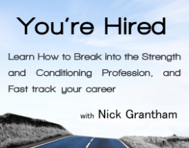 you're hired with nick grantham