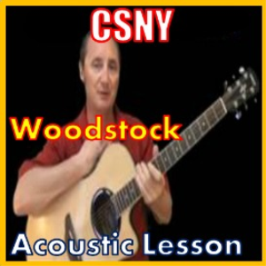 learn to play woodstock by csny