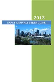 expat arrivals perth guide