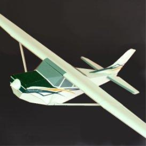 Paper Cessna Skylane