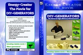 energy creator the movie diy pmg generators + update movie 1