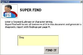 super find (office app)