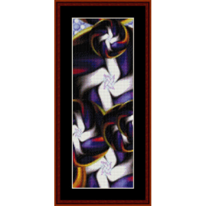 Fractal 379 Bookmark cross stitch pattern by Cross Stitch Collectibles | Crafting | Cross-Stitch | Other