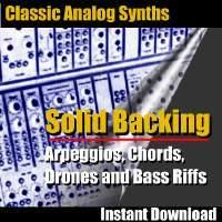 Classic Analog Synth Music Loops - Solid Backing | Music | Soundbanks