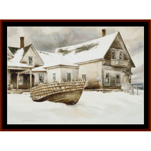 Captain's Quarters - Americana cross stitch pattern by Cross Stitch Collectibles | Crafting | Cross-Stitch | Wall Hangings