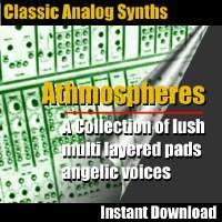 Classic Analog Synth Music Loops - Athmospheres | Music | Soundbanks