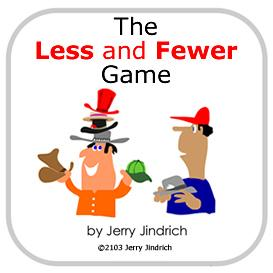 less and fewer