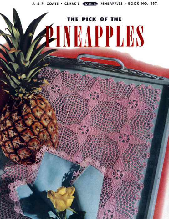 Fourth Additional product image for - Pick of the Pineapples | Book No. 287 | The Spool Cotton Company DIGITALLY RESTORED PDF
