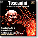 TOSCANINI Brahms in London, Volume 2, mono 16-bit FLAC | Music | Classical