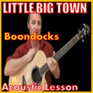 learn to play boondocks by little big town