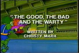 bucky o'hare - s01-e03 - the good the bad and the warty