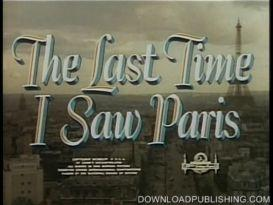 the last time i saw paris - movie 1954 drama romance download .mpeg