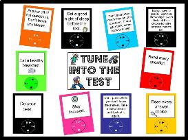 tune into the test bulletin board kit