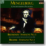 Beethoven and Brahms 1st Symphonies, Mengelberg mono FLAC | Music | Classical