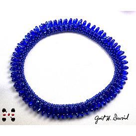 3 rizo bead crochet bracelet