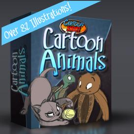 How to Draw Cartoon Animals - Six Hours of Video Tutorials