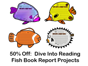 Dive Into Reading Fish Book Reports 50% Off | Documents and Forms | Other Forms