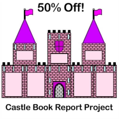 First Additional product image for - Castle Book Report Project 50% Off