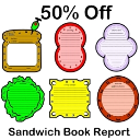 Sandwich Book Report 50% Off | Documents and Forms | Other Forms