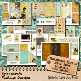 steamtown spring mini book