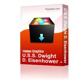 U.S.S. Dwight D. Eisenhower - Crest [2196] | Other Files | Graphics