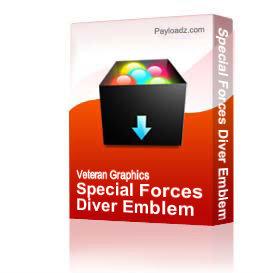 Special Forces Diver Emblem [1904] | Other Files | Graphics