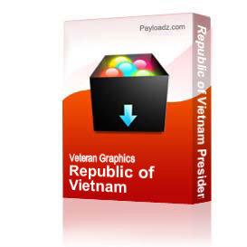 Republic of Vietnam Presidential Unit Citation Ribbon [1791] | Other Files | Graphics