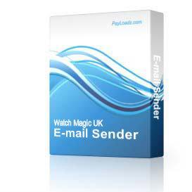 E-mail Sender | Software | Utilities