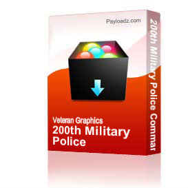 200th Military Police Command [3008] | Other Files | Graphics