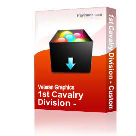 1st Cavalry Division - Custom - W/CIB [3072] | Other Files | Graphics