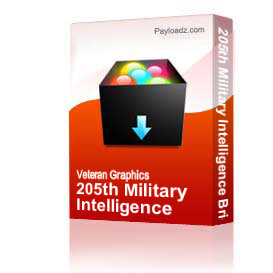 205th Military Intelligence Brigade W/Text [3282] | Other Files | Graphics