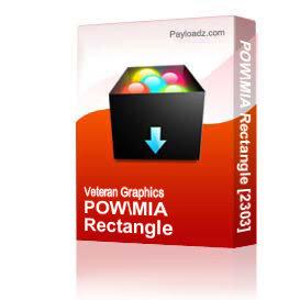 POW/MIA Rectangle [2303] | Other Files | Graphics