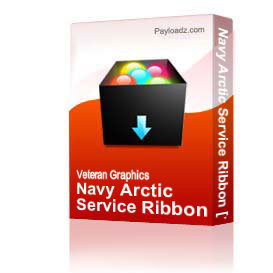 Navy Arctic Service Ribbon [1719] | Other Files | Graphics